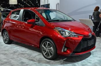 Озвучены цены на обновленную  Toyota Yaris