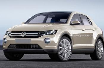 VW показал новый компактный кроссовер T-Roc на видео