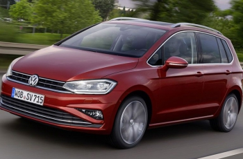VW представил обновленный компактвэн Golf Sportsvan