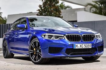 Новое поколение BMW M5 представлено официально (видео)
