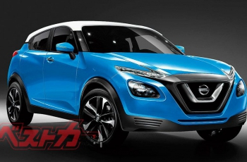 Второй Nissan Juke покажут в августе