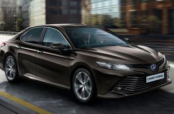 Toyota Camry впервые за 14 лет приедет в Европу