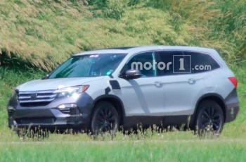 Honda приступила к тестам подключаемого гибридного Pilot
