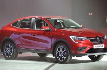 Renault назвал все цены на кросс-купе Arkana