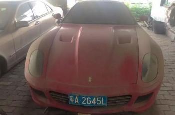 Настоящий Ferrari продают по цене «Жигулей»