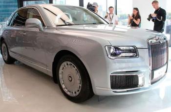 Российский седан Aurus Senat  оказался дороже Maybach и Bentley