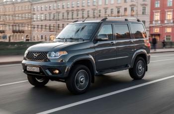 УАЗ «Патриот» с АКПП показали в Минске