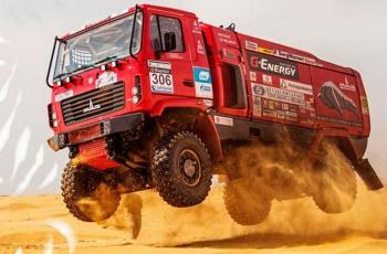 Белорусский экипаж Вязовича стал третьим в ралли «Дакар-2020»