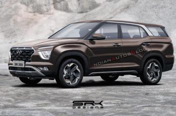 В Сети показалась семиместная Hyundai Creta
